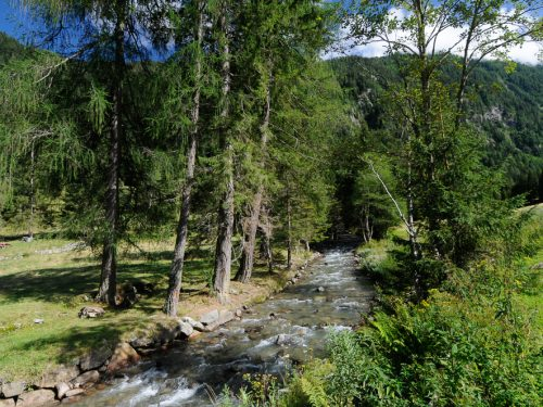 Valpiana e cascata di Sas Pisador